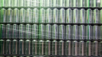 Big Grove Brewery is installing a canning line and getting ready to sell their beer in cans.