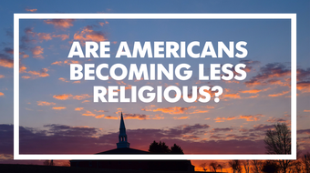 Are Americans becoming less religious? A 2014 poll says yes - and no.