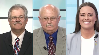 KTXS/Abilene Reporter-News City Council Debate on April 18, 2018, with Place 2 incumbent Bruce Kreitler and challengers Jack Rentz and Alex Russell.