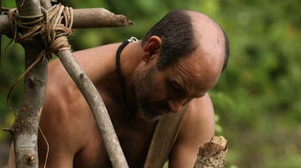 "James Lewis of Crawfordville decided to put his survival skills to the test and try to survive 21 days on ""Naked and Afraid."""