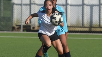 The Academy Cougars met the Southern High Dolphins for their Independent Interscholastic Athletic Association of Guam Girls' Soccer match at the Guam Football Association National Training Center in Dededo on April 20, 2018.