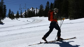 RGJ Outdoors reporter Benjamin Spillman tells you how to backcountry ski at recently closed ski resorts.
