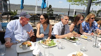 The Yonkers lunch club meets every Thursday at 17 different downtown Yonkers restaurants.