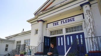 Meet Jerry Norris, founder of The Fledge in Lansing.  He's bought a 92-year-old building south of Sparrow Hospital and seeks creative chaos for all.