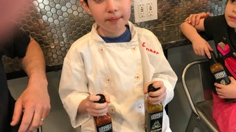 Connor Barshay, 10, of Verona, has started Connor's Saucery, making and selling small batches of hot sauce.