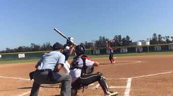 Rio Mesa sophomore Alicia Estrada struck out 17 batters and Agoura senior Lexy Mills allowed one hit in a playoff-opening softball pitchers duel.