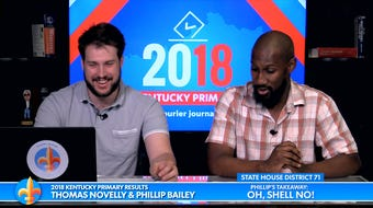 Courier Journal's Phillip M. Bailey breaks down seven Kentucky primary races in a rapid-fire session with fellow reporter Thomas Novelly.