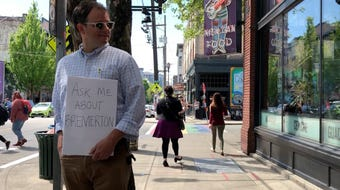 Reporter Andy Binion interviews Seattleites about their views on Bremerton.
