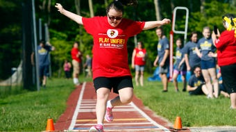 Seven track and field teams including 91 athletes and partners came together to celebrate competition and inclusion.