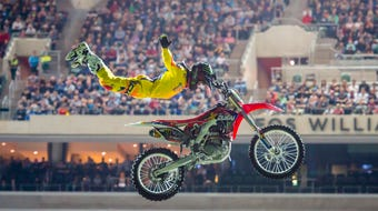 Nitro Circus will bring daredevil motocross tricks and stunts to PeoplesBank Park in downtown York on Friday, June 15.