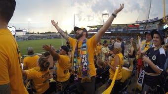 Nashville SC supporters group, The Roadies is the largest and arguably the rowdiest group at every Nashville SC game.