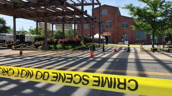 A shooting early Sunday at an all-night arts festival in Trenton left 22 injured, four in critical condition. The 33-year-old alleged gunman was killed.
