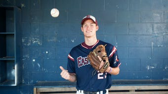 Eastern's Jesse Barbera is the 2018 Courier-Post Baseball Pitcher of the Year.