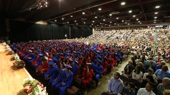 Scenes from the Roy C. Ketcham graduation in the City of Poughkeepsie.