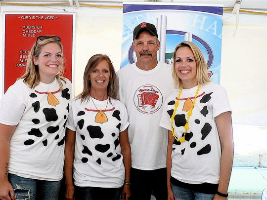 The entire Stettler family of Decatur Dairy, Brodhead,