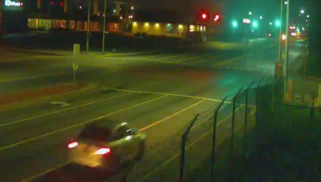 Police are looking to identify the driver of this vehicle.