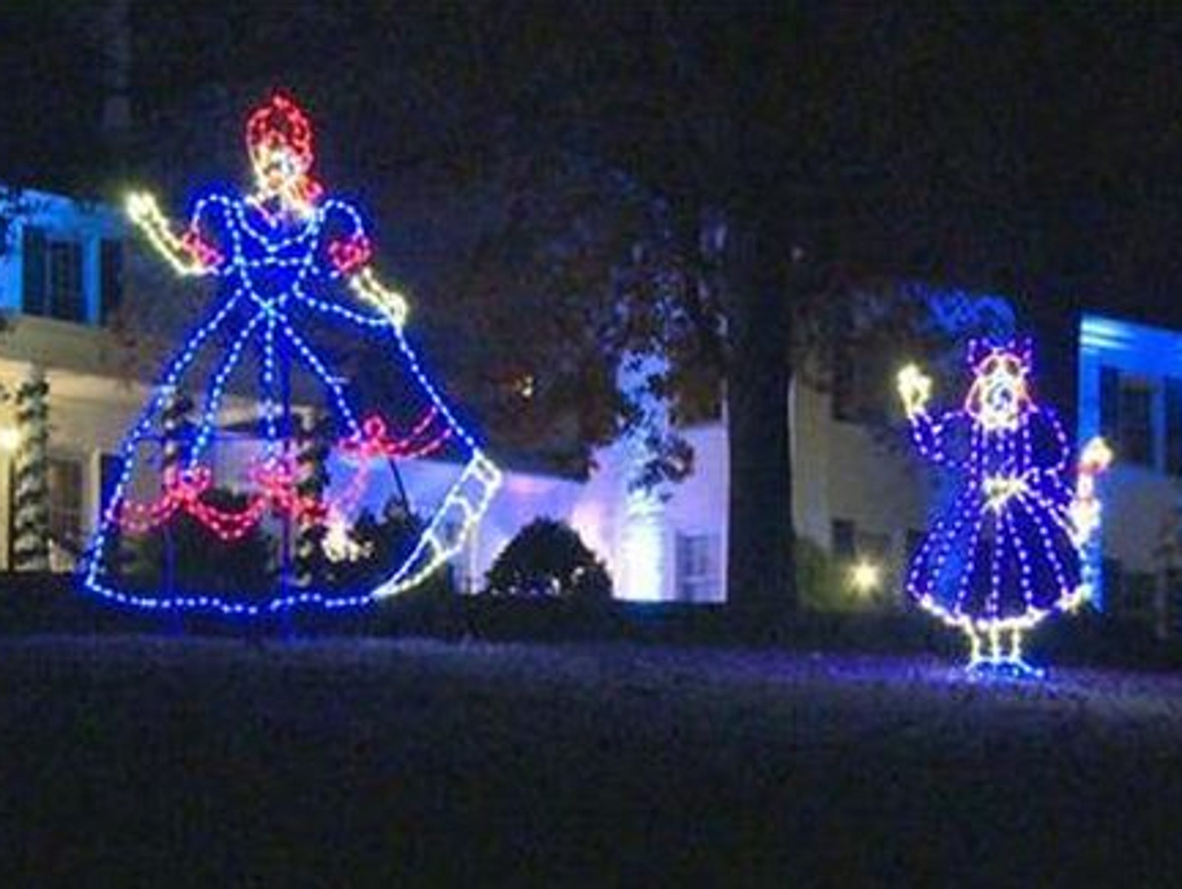 Tanglewood Christmas Lights