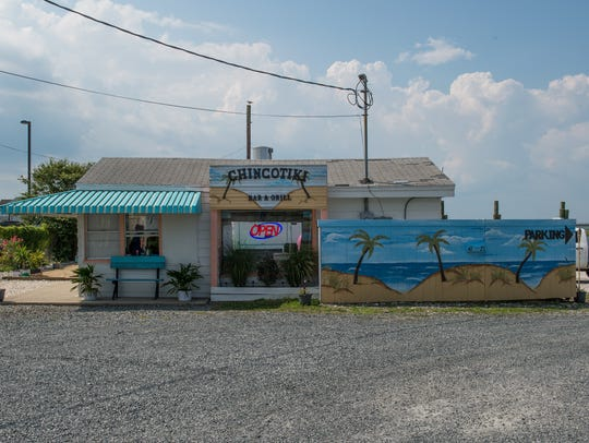 An exterior view of Chincotiki in Chincoteague on Tuesday,