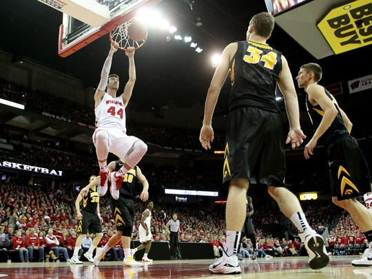 Frank Kaminsky and the Badgers are primed to give Wisconsin plenty to cheer about come tournament time.