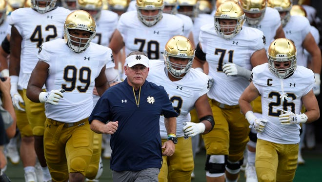 Could Brian Kelly have the Fighting Irish back in the national title chase?
