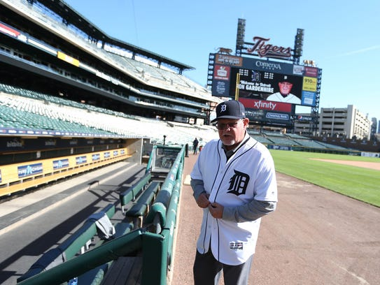 The new manager for the Detroit Tigers Ron Gardenhire