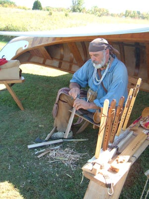 Multiple demonstrations will take place that the Fall Living History Festival at Marsh Haven Nature Center.