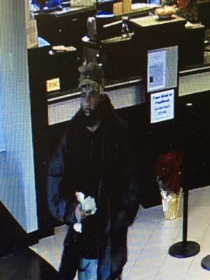 Anyone who has information about this case or can identify the suspect in the attached bank security camera photo is asked to call Bossier crimestoppers at 318-424-4100.