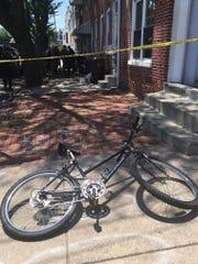 A teen was shot in the 700 block of S. Van Buren St. in Wilmington on Thursday, June 2, 2016.