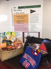 Detroit Pistons and Trader Joe's items will be among those auctioned off.