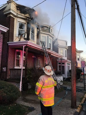 A home burned Tuesday in Wilmington.