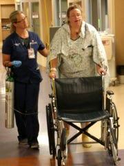 Kerry Minster, a cardiovascular intensive care nurse