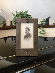 This World War I portrait of Lt. William Furse was purchased 15 years ago in a Stratford-upon-Avon shop and brought back to Simi Valley by Graham Richards.