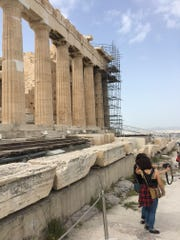 The Parthenon is among the must-see ruins in Anthens, Greece.
