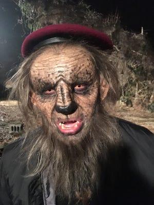 "Mason High School grad Blake French plays Daggit, the bad werewolf in the mini series ""Neon Joe: Werewolf Hunter —Season 2."""