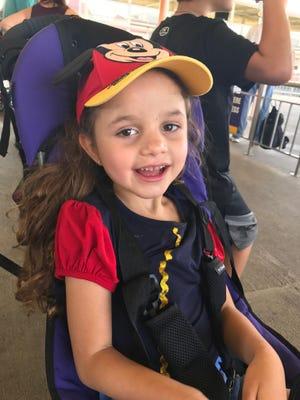 Make-a-Wish helped Emme go to Walt Disney World Resort.