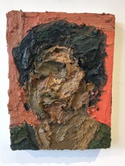 """""""Portrait of Paloma"""" by Herman Aguirre is on view in"""