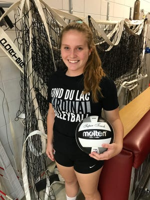Senior setter Emily Thompson registered her 1,000th career assist earlier this season and has helped Fond du Lac get off to a 4-1 start in the Fox Valley Association.