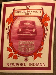 A poster for the 50th anniversary race this weekend.