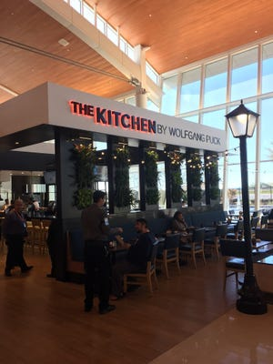 The Kitchen by Wolfgang Puck at GSP offers a range of casual and more gourmet fare.