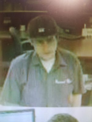 "The Martin County Sheriff's Office released a photo of a man the FBI called the ""Shaky Bandit"" in connection with a robbery at Wells Fargo in Palm City Monday afternoon. The man is suspected to be connected to at least 10 other bank robberies."