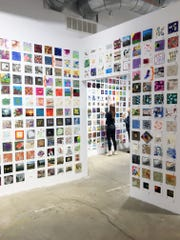 The 6x6 exhibition has become RoCo's largest fundraiser.