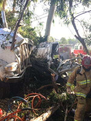 A crash on Highway 126 in Ventura killed one and injured another Thursday morning.