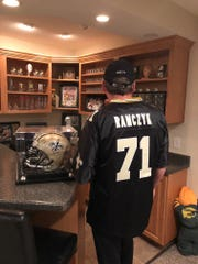 Randy Ramczyk, the father of New Orleans Saints rookie