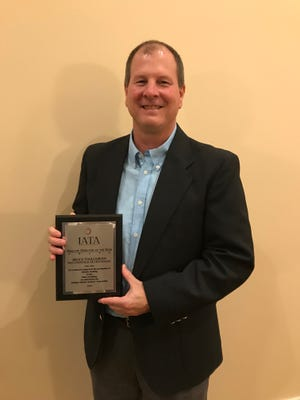 West Lafayette's Brock Touloukian was awarded Athletic Director of the Year by the Indiana Athletic Trainers' Association.
