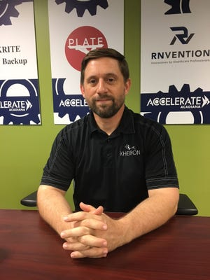 Shane Istre of Kheiron, a workforce training company that uses video games.