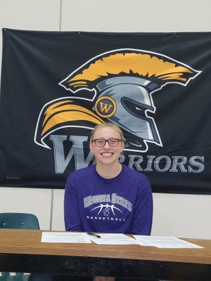 Waupun senior Sydney Flier signed a national letter of intent to continue her basketball career at NCAA Division II Winona State University next fall.