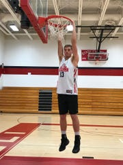 Pacelli's A.J. Firminhac earned second team All-Central Wisconsin Conference-8 honors last season after averaging 10.9 points a game on 49.1 percent shooting from the field.
