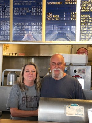Greer BBQ owners, Teresa and John Gilstrap.