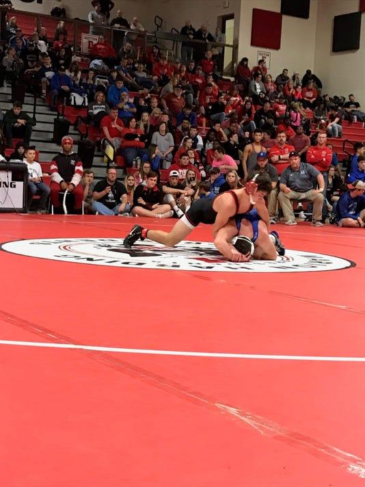 Pleasant wrestling Carter Wolf