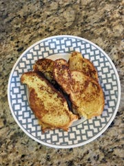 Challah makes a rich, flavorful French toast.